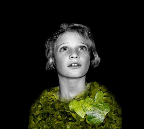 Niña II Foto digitalizada