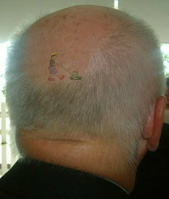 not a big fan of tattoos, but this is the best one I've ever seen ...