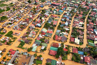 Flooding (from Typhoon 'Ketsana') - Manila, Phillippines (Sept. 2009)