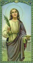 Patron Saint of the Santa Lucia Family