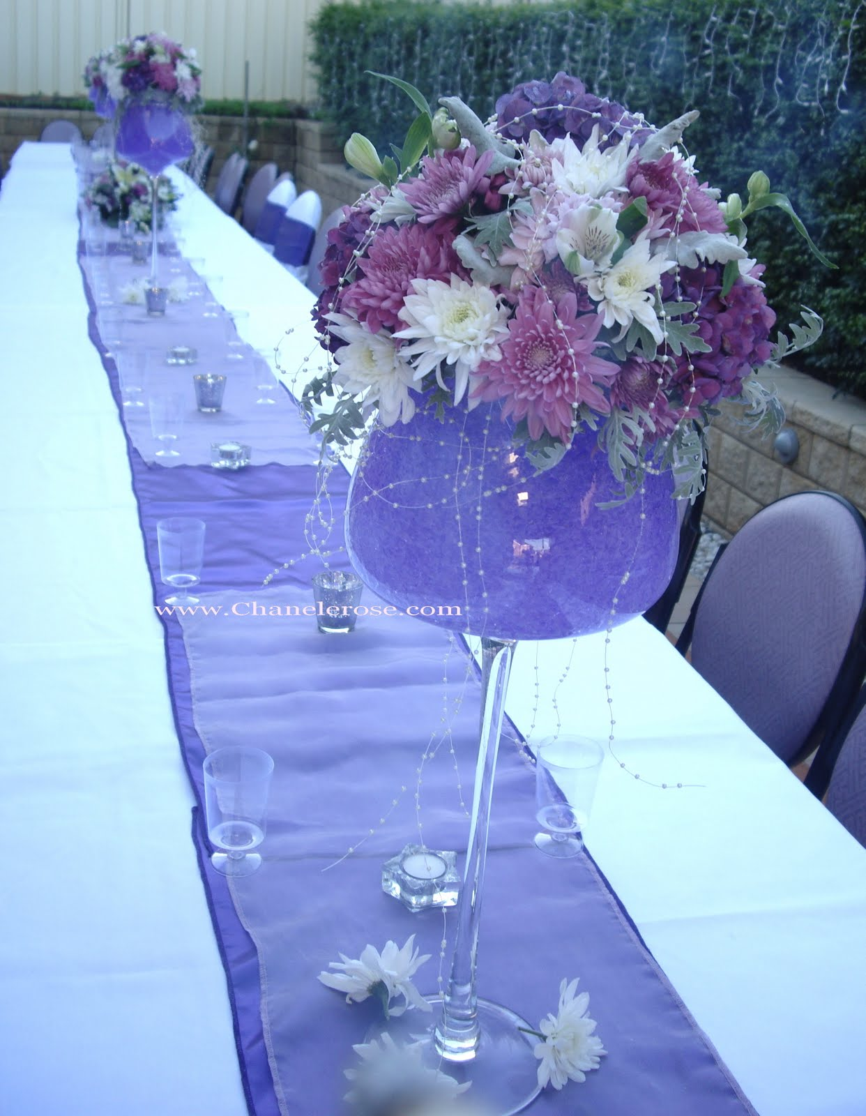 Party table decoration pictures photograph engagemen