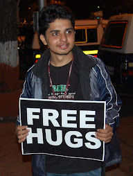 Vinit Mehta (1st Free Hugger in INDIA)