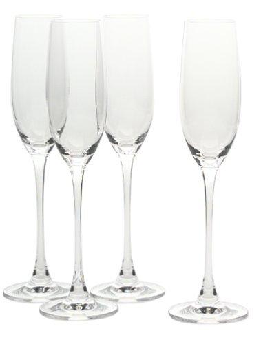 Wedding champagne flutes lenox tuscany classics fluted champagne set of 4 - Lenox colored wine glasses ...