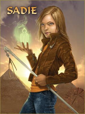 Crónicas de Kane 2 /El Trono de fuego.. Sadie