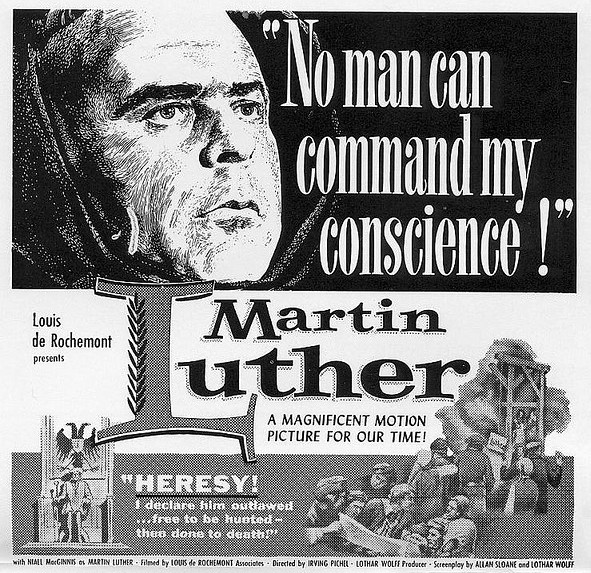 Martin Luther (1953 film) movie scenes Luther in Film Martin Luther 1953 with Niall
