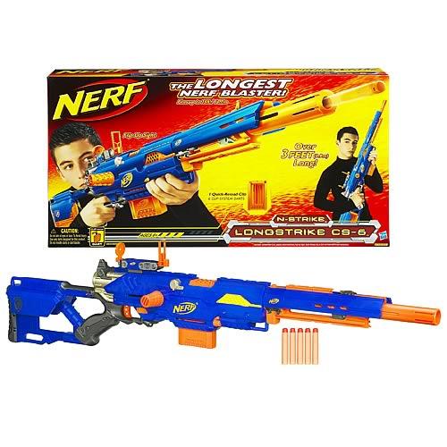 Nerf Acción!: NERF LONGSTRIKE CS-6