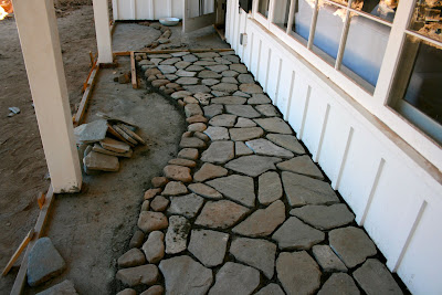 the polished pebble porch project ojai update