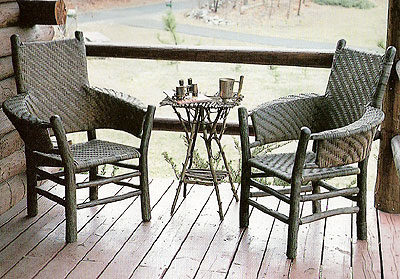 Vintage Old Hickory is highly collectable and many of the chairs may have  the original woven seats and labels, which will increase the value. - The Polished Pebble: Old Hickory Furniture....a Love Affair