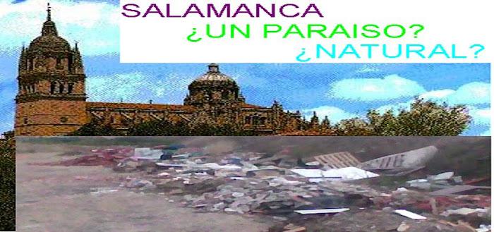 Salamanca ¿un paraiso natural?