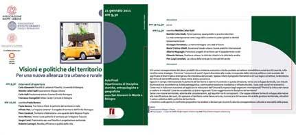 RELAZIONI - 21 GENNAIO-CONVEGNO SUL TERRITORIO