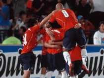 Gol de Chile contra Honduras Chile 1 Honduras 0 mundial 2010