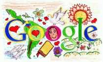Doodle Google Día de la Raza logo de Google Día de la Raza
