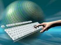 infografía que mide el volumen de información que se genera en internet