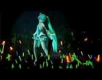 Hatsune Miku: holograma 3d que llena estadios en Japón
