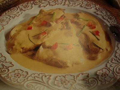 Cuisineetdelices recettes de cuisine petits plats entre amis recette escalopes de veau la - Rognons de veau a la creme ...