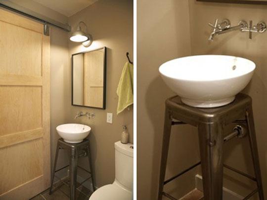 Pia de banheiro vintage : Banheiros que eu gosto aprender decorar minha casa