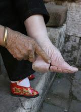 pies torturados