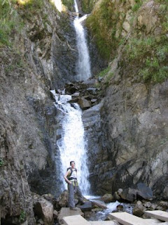 waterfall hiking
