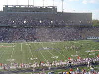 Rice day football game.
