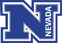 Blue Nevada logo with big N.
