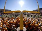Cool picture of Wyoming football team before a game.