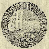 Stone The University of Idaho seal.