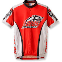 New Mexico Lobos cycling jersey.