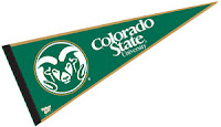 Green Colorado State pennant.