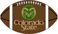 Colorado State football art work.