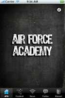 Air Force Academy Black Berry wallpaper.