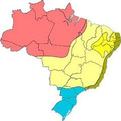 Veja os climas do Brasil em imagem digital