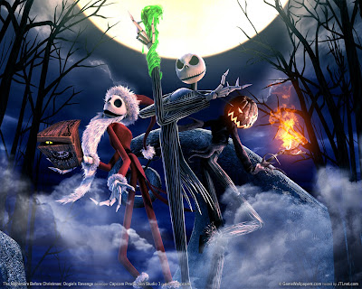 nightmare before christmas wallpaper. Game Review 4: Nightmare