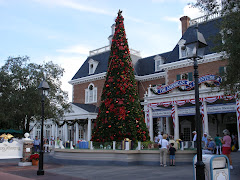 Christmas Tree at the American Adventure