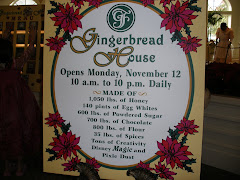 Recipe for the Gingerbread House