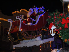 Santa in the Parade