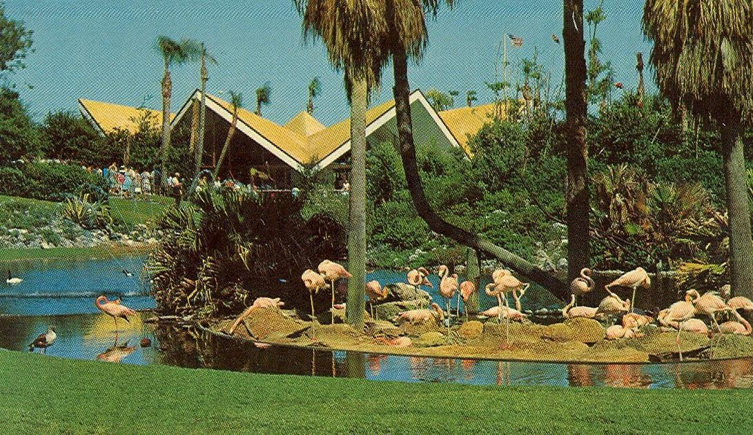Vintage Travel Postcards: Hospitality House, Busch Gardens - Tampa ...