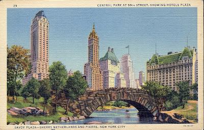 Vintage Travel Postcards October 2009