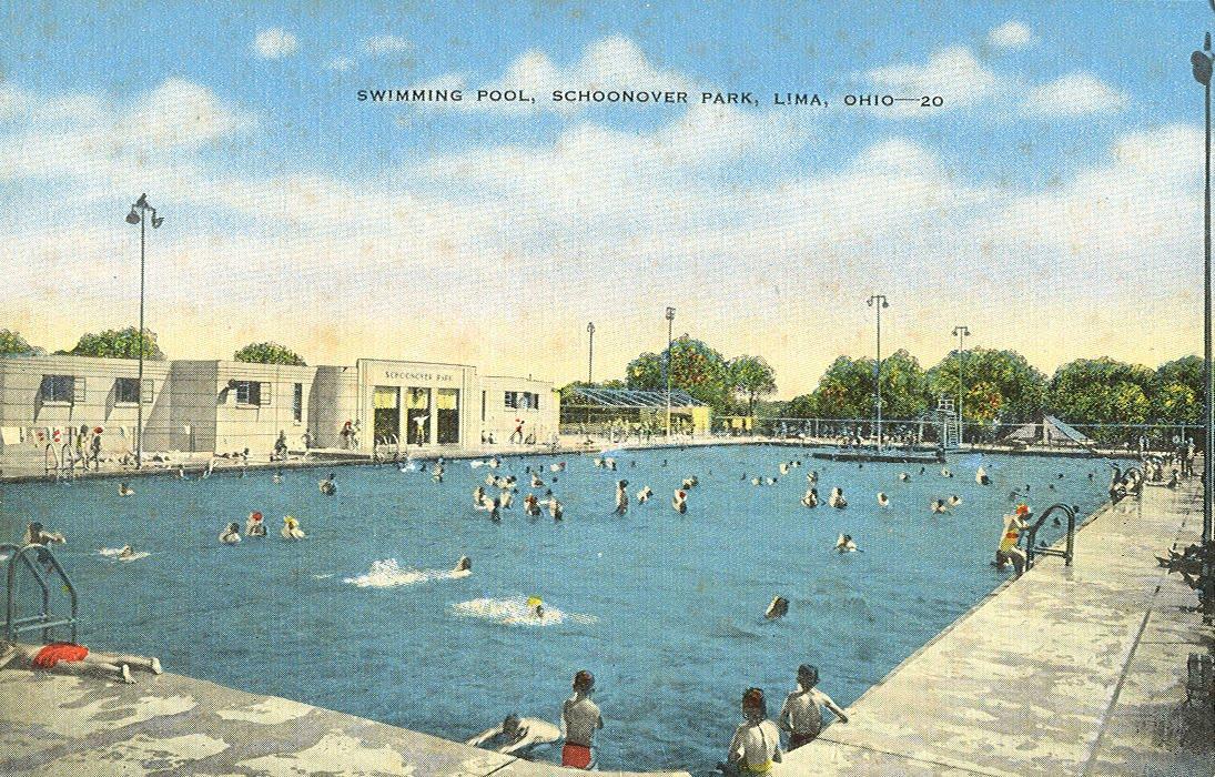Vintage Travel Postcards Lima Ohio