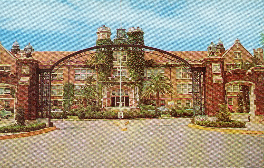 vintage travel postcards tallahassee florida