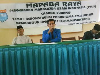 Masa Penerimaan Anggota Baru (MAPABA) 2009