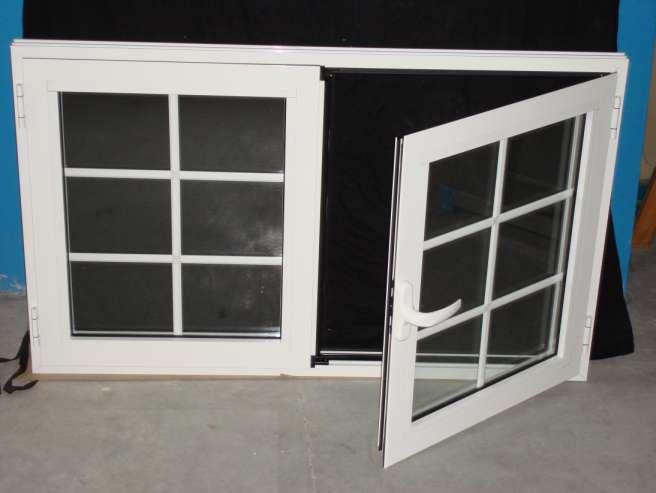 Ventanas aluminio ventana abatible for Cristal climalit