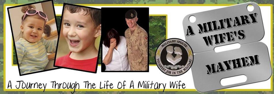 A Military Wife's Mayhem!