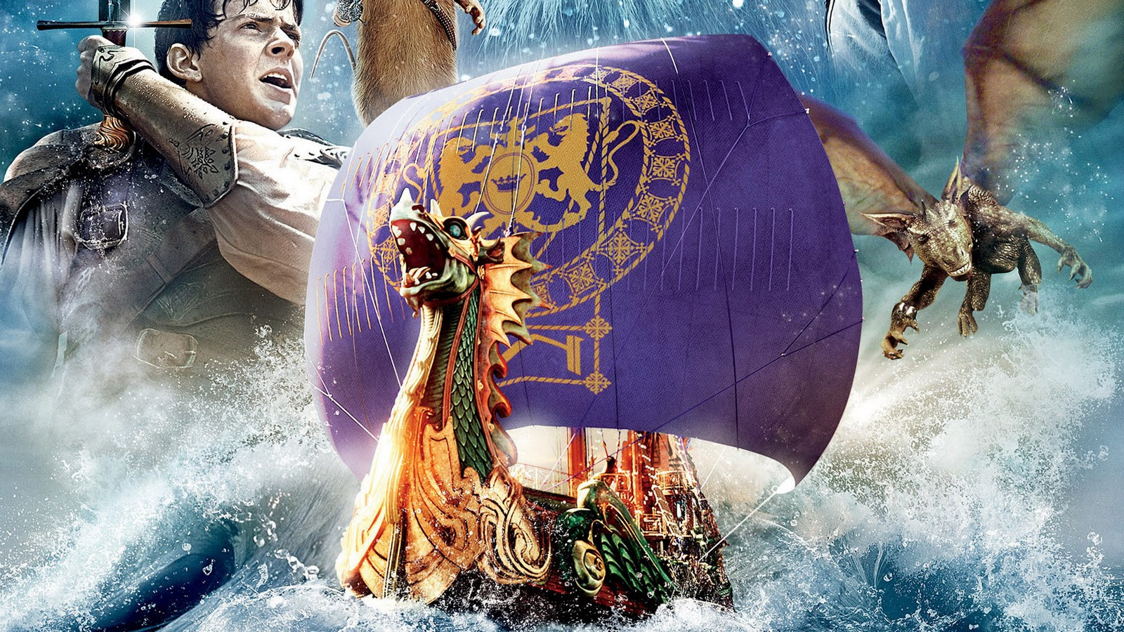 Wallpapers Photo Art The Chronicles Of Narnia Voyage