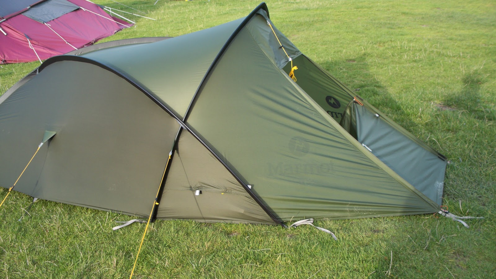 The Grid 2P Marmot Tent & Far and Beyond: The Grid 2P Marmot Tent