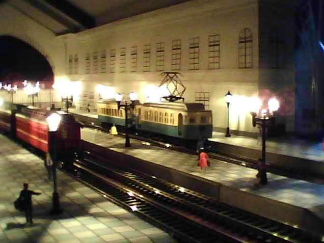 Estacion Pirque de noche
