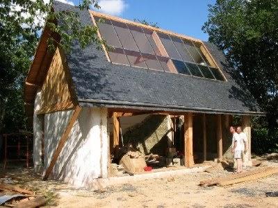 Habitation autonome maison ecologique des baronnet - Maison ecologique autonome ...