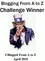 Challenge A to Z Winner