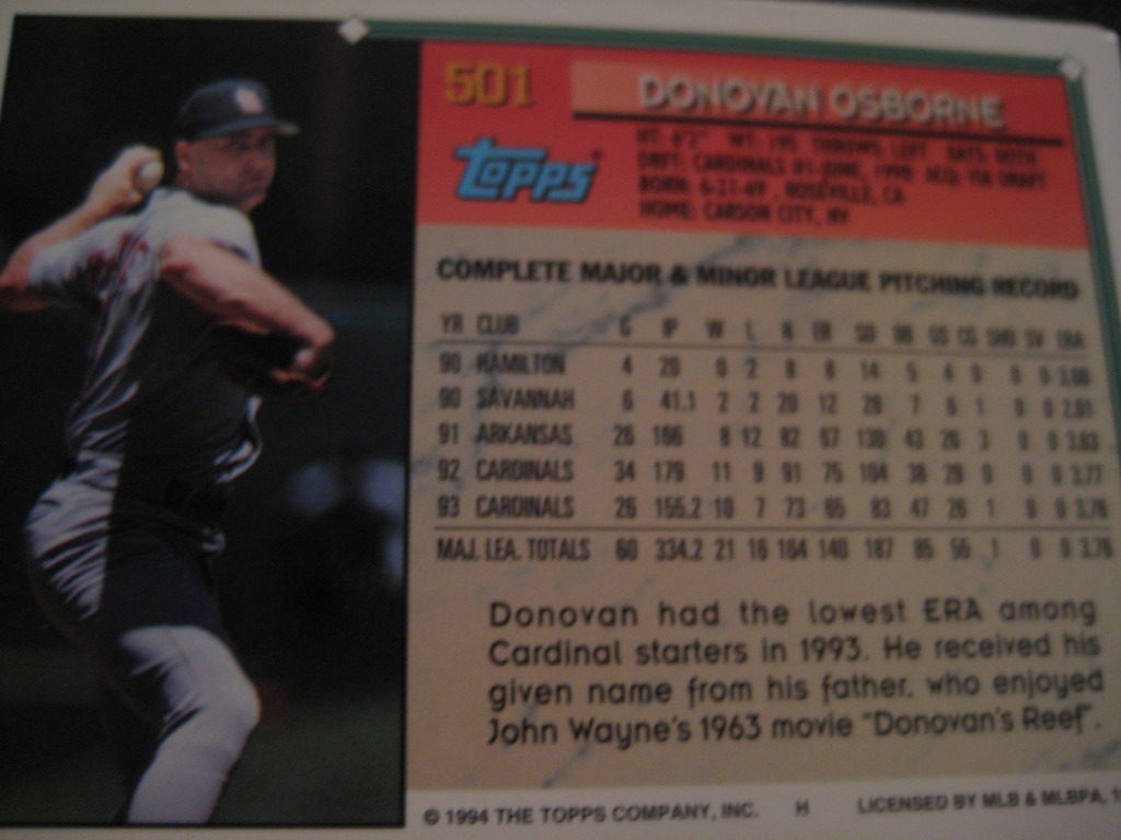 Baseball Cards Come to Life!: August 2010