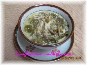 Resep Sayur Bobor Singkong