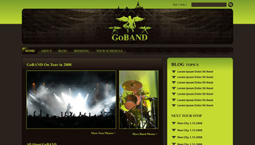 Create+a+Killer+Band+Site+with+Drupal+A+6 part+Tutorial+Series 40 PSD to XHTML, CSS Tutorials to Create Web Layouts